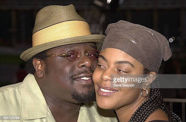 Cedric the Entertainer wife Lorna during Two Can Play That Game Premiere at Cineplex Odeon Century Plaza Cinema in Century City California United...