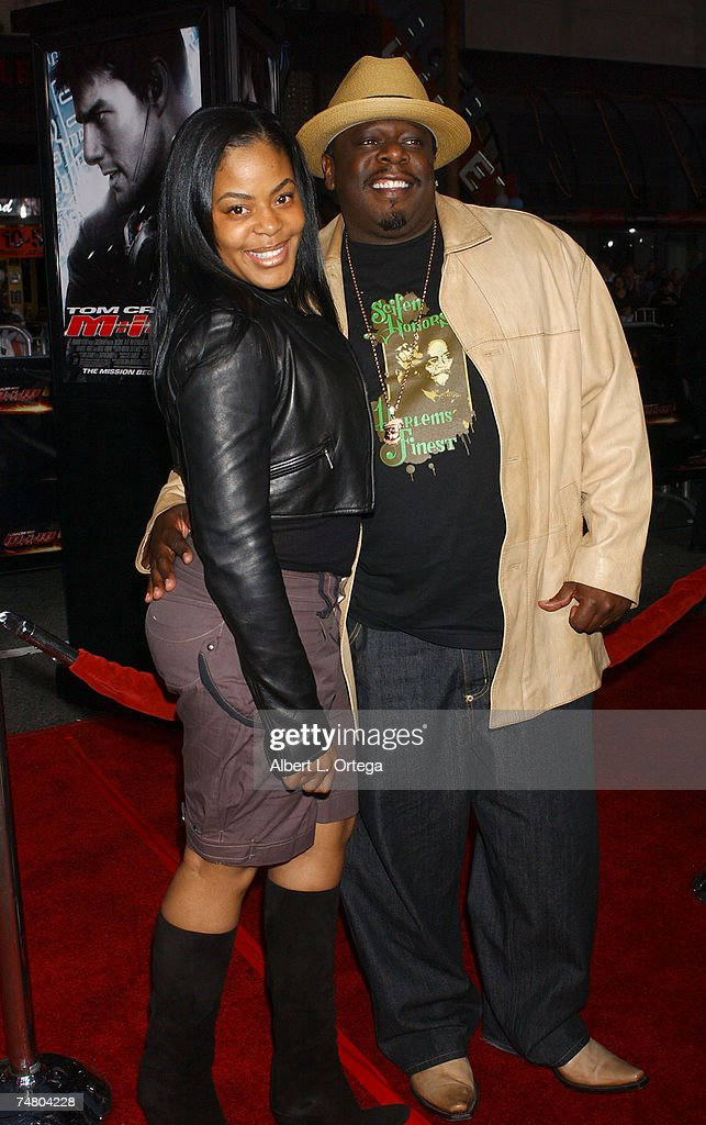 Cedric The Entertainer with wife Lorna Wells at the ...Lorna Wells