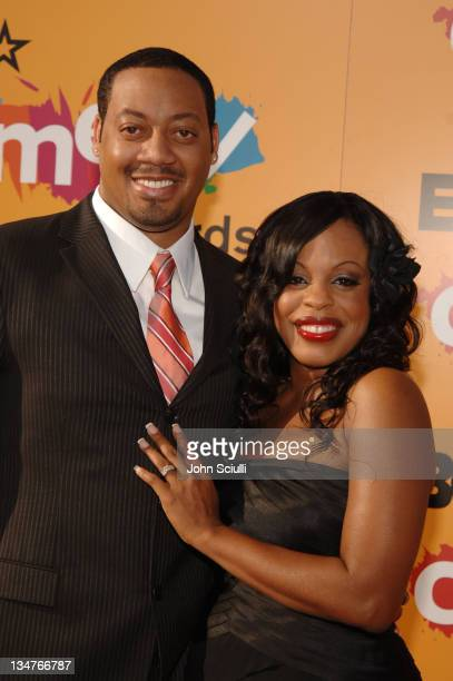 Cedric Yarbrough and Niecy Nash during 2005 BET Comedy Awards Arrivals at Pasadena Historic Civic Center in Pasadena California United States