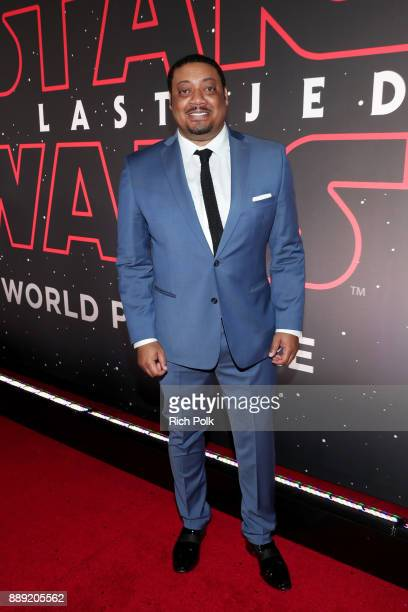 Cedric Yarbrough at the world premiere of Lucasfilm's Star Wars The Last Jedi at The Shrine Auditorium on December 9 2017 in Los Angeles California