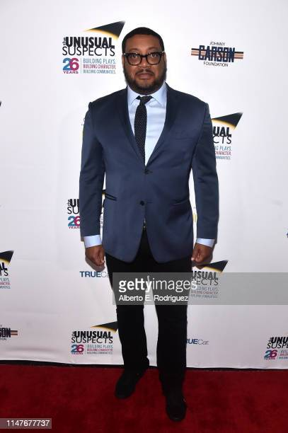 Cedric Yarbrough attends the Be Unusual 11th Annual Gala on May 07 2019 in Los Angeles California