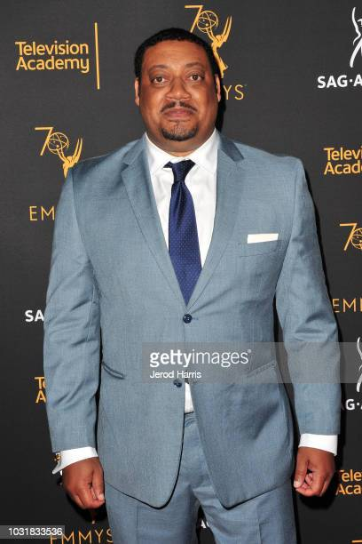Cedric Yarbrough attends the Television Academy and SAGAFTRA CoHost Dynamic Diverse Emmy Celebration at Saban Media Center on September 11 2018 in...