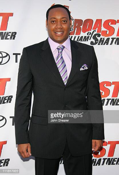 Cedric Yarbrough during Comedy Central's Roast of William Shatner Arrivals at CBS Studio Center in Studio City CA United States