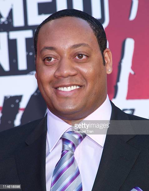 Cedric Yarbrough during Comedy Central's Roast of William Shatner Arrivals at CBS Studio Center in Studio City California United States
