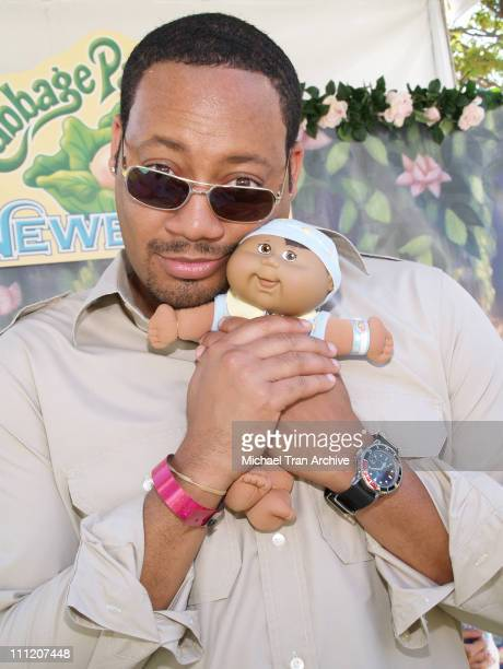 Cedric Yarbrough during Silver Spoon Buffet at the Cabbage Kids Newborns Booth Day 1 at Wattles Mansion in Hollywood California United States