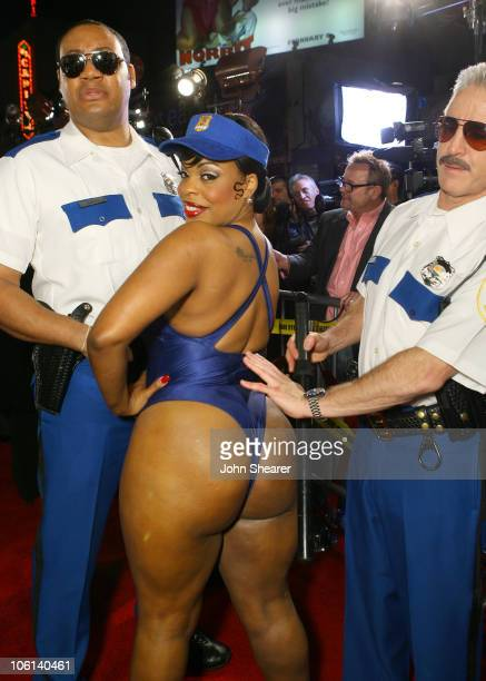 Cedric Yarbrough Niecy Nash and Carlos Alazraqui during Reno 911 Miami Los Angeles Premiere Red Carpet at Grauman's Chinese Theater in Hollywood...