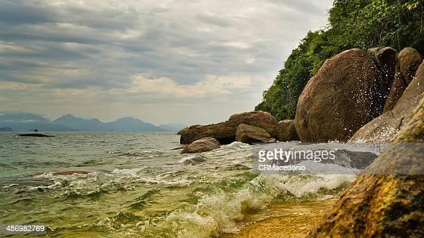 cedrinho beach - crmacedonio stockfoto's en -beelden