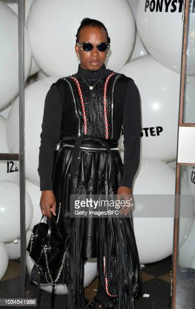 Cee Cee attends the Izzue X Ponystep LFW Party during London Fashion Week September 2018 on September 16 2018 in London England