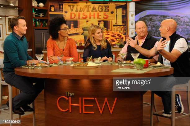 THE CHEW Cee Lo Green is a guest on The Chew The Chew airs MONDAY FRIDAY on the Walt Disney Television via Getty Images Television Network SYMON