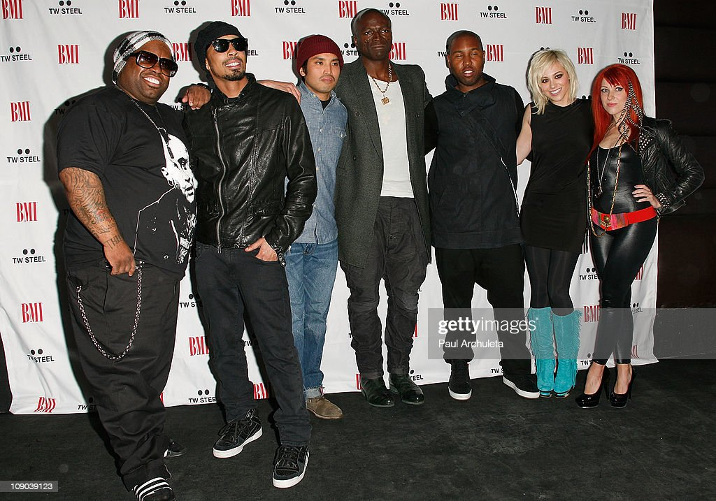 Cee Lo Dallas Austin Chad Hugo Seal Claude Kelly Bc Jean And News Photo Getty Images