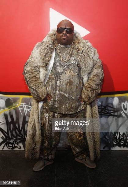 CeeLo Green attends YouTube brings the BOOM BAP BACK to New York City With Lyor Cohen Nas Grandmaster Flash QTip Chuck D and Fab 5 Freddy on January...
