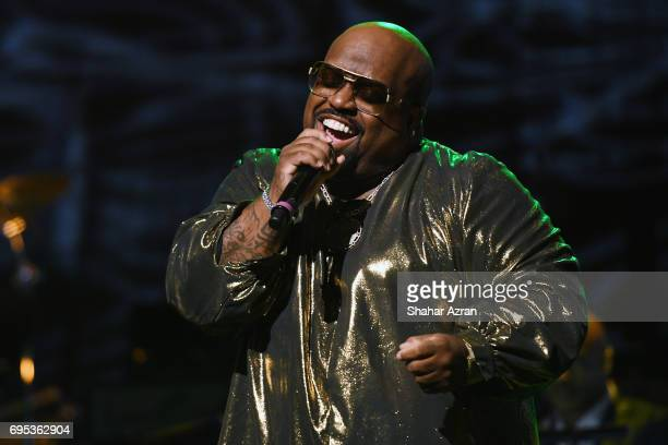 CeeLo Green performs during the Apollo Spring Gala 2017 at The Apollo Theater on June 12 2017 in New York City