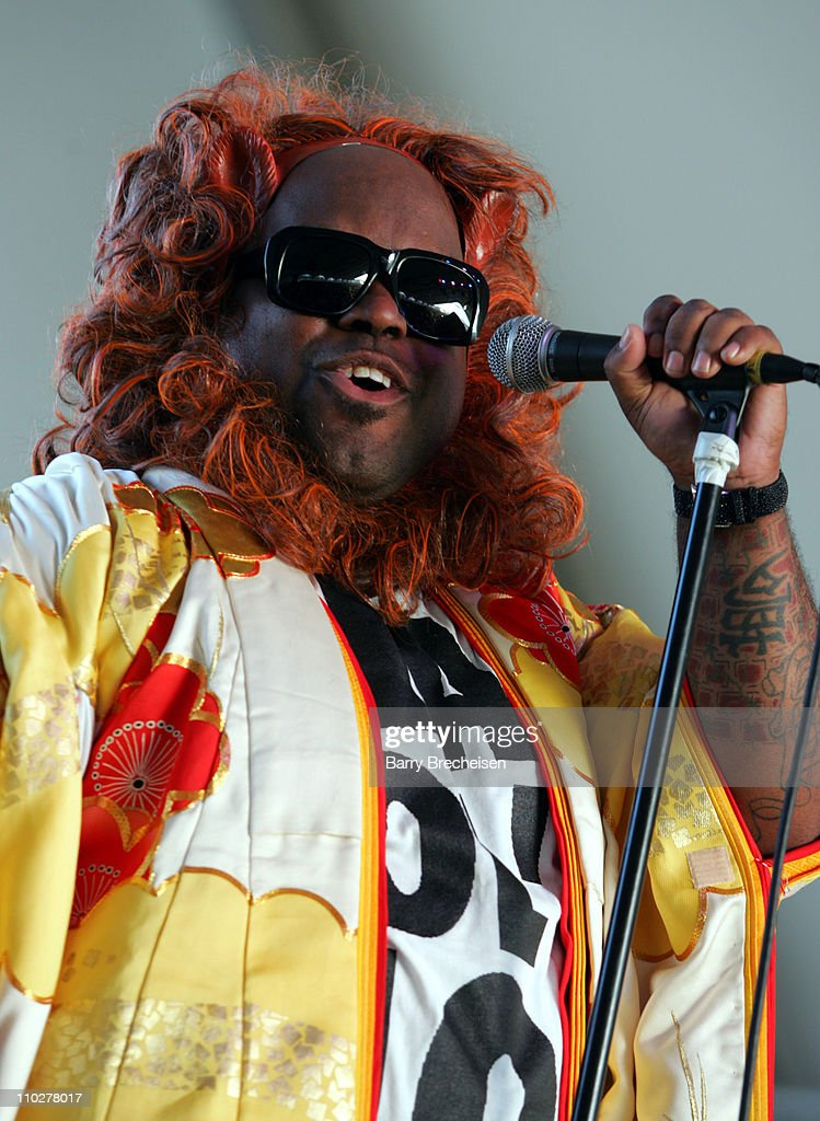 Cee-Lo of Gnarls Barkley during 2006 Coachella Valley Music and Arts Festival - Day Two at Empire Polo Fields in Indio, California, United States.