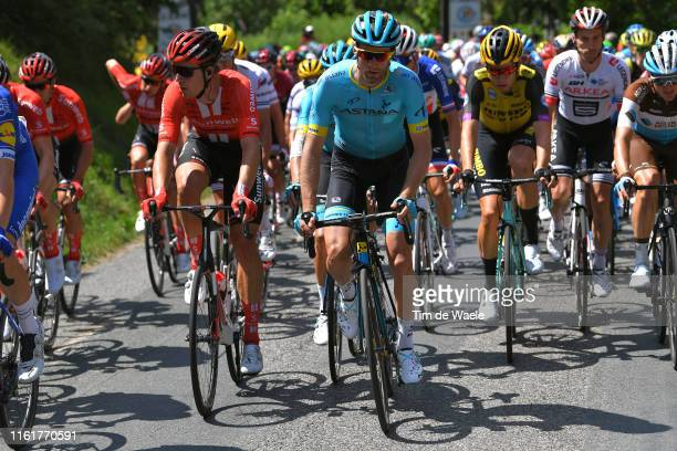 Cees of Bol of The Netherlands and Team Sunweb / Hugo Houle of Canada and Astana Pro Team / during the 106th Tour de France 2019, Stage 8 a 200km...