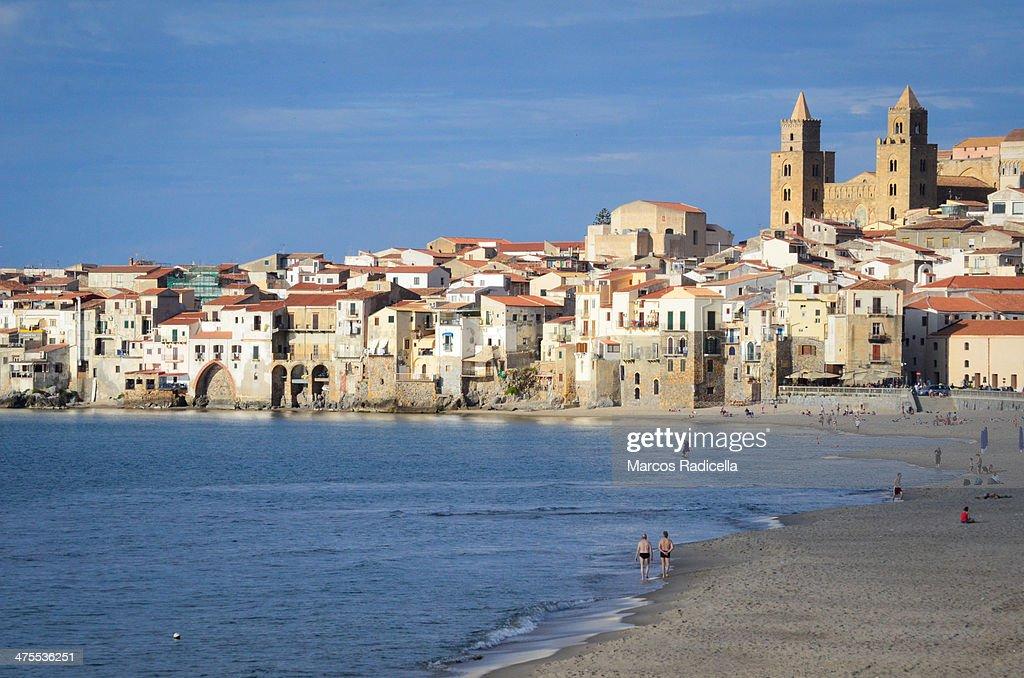 Cefalú, Sicily : Stock Photo