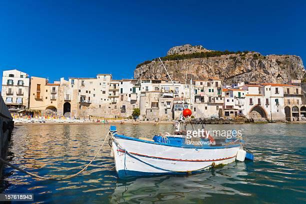Cefalù, Sicilia, Italia.
