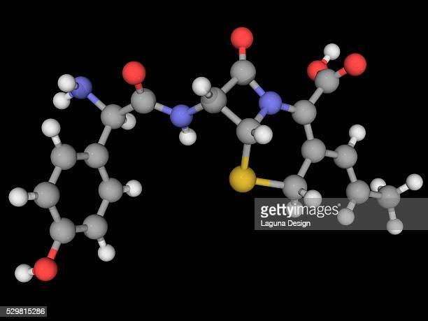 Cefprozil drug molecule