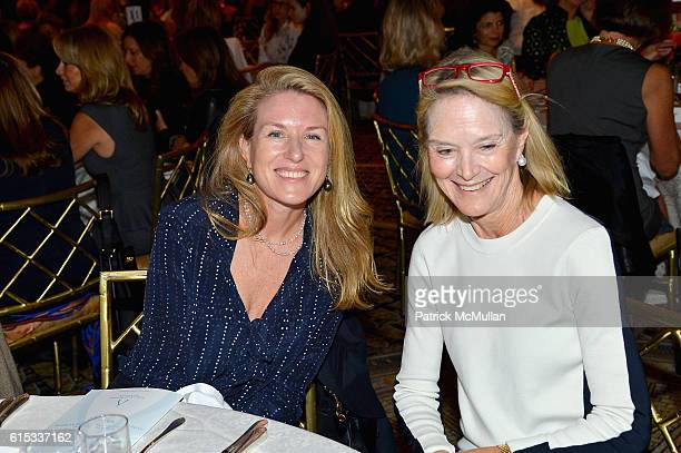 Ceila Gerard and Jane Bunn attend the Lung Cancer Research Foundation's Eleventh Annual Lung Cancer Awareness Luncheon at The Pierre Hotel on October...
