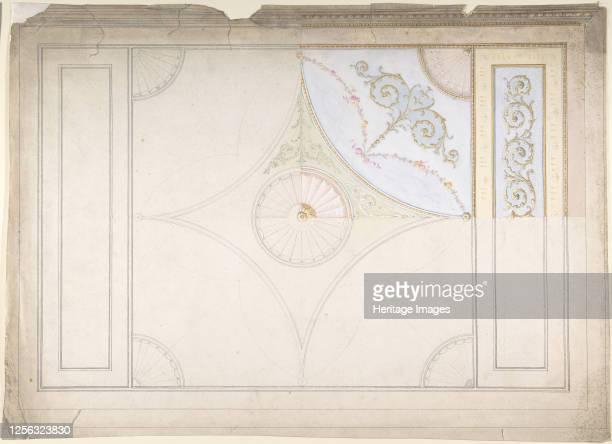 Ceiling Design late 19th century Artist Anon