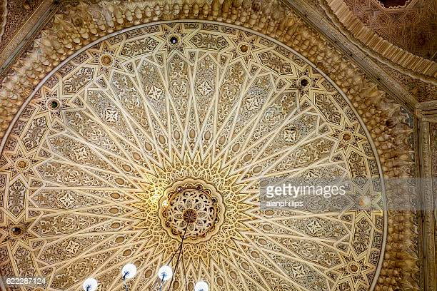 Ceiling details of Grand Post Office in Algiers - Algeria