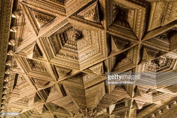 Decke in der Kathedrale von Cuenca, Spanien.