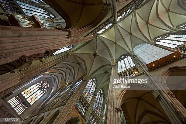 Ceiling of Cologne cathedral