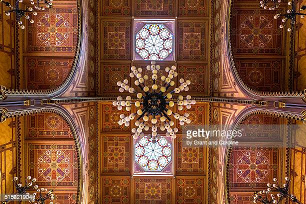 Ceiling of Great Synagogue, Budapest