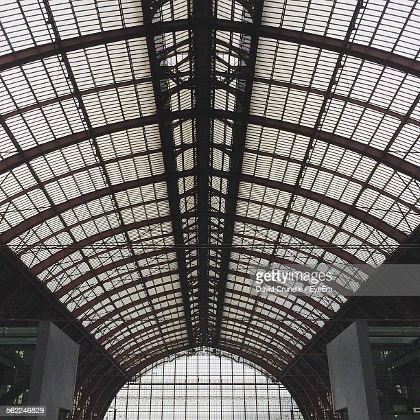 Ceiling Of Railroad Station