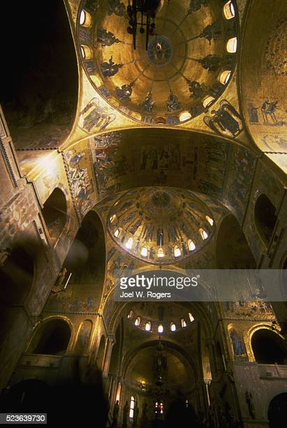 ceiling of st. mark's cathedral - faith rogers stock pictures, royalty-free photos & images