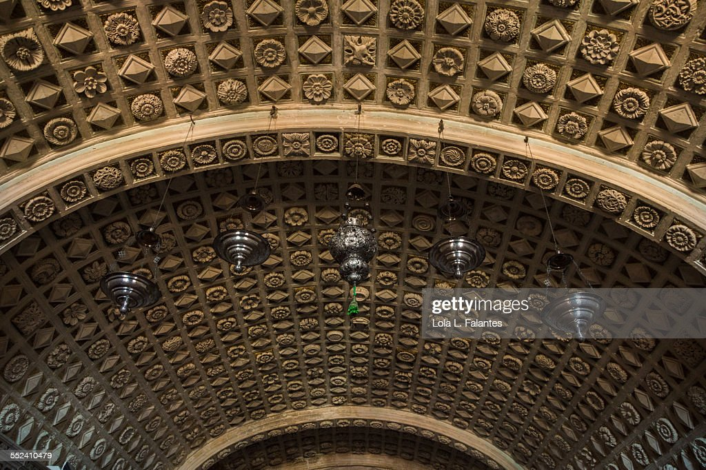 Ceiling of the crypt : Stock-Foto