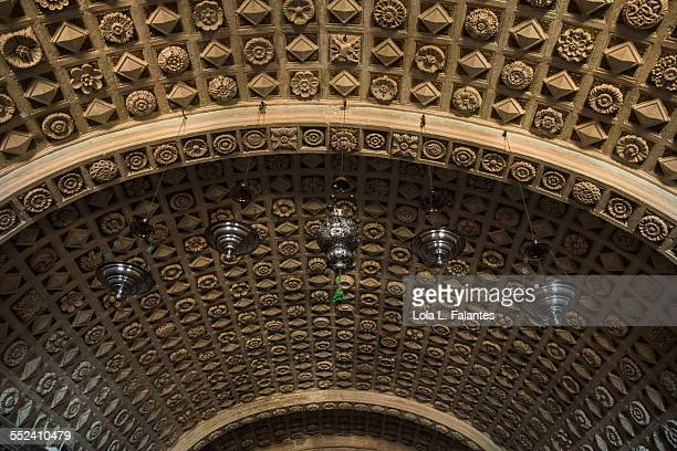 Ceiling of the crypt