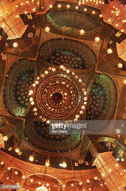 Ceiling of the Mosque of Muhammad Ali