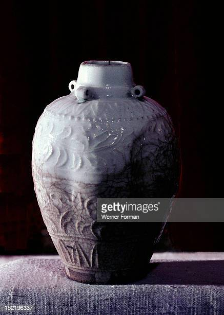 Celadon pot believed to be the only surviving object brought back from China by Marco Polo China Chinese Song dynasty c AD 960 1279