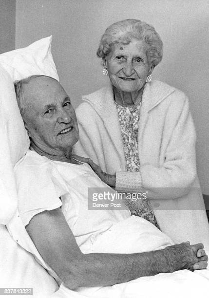 Celebrate 70ih Anniversary Mrs Carrie Whitlock visits her husband James who will be 92 on July 12 in his room at Mercy Hospital 1619 Milwaukee St...