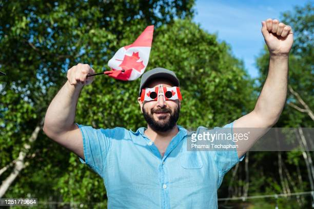 celebrate canada day - canada day stock pictures, royalty-free photos & images