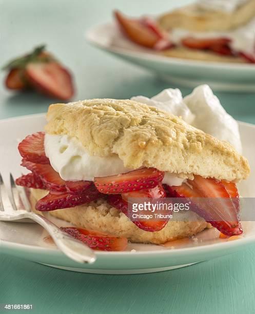 Celebrate the spring season with strawberry shortcake