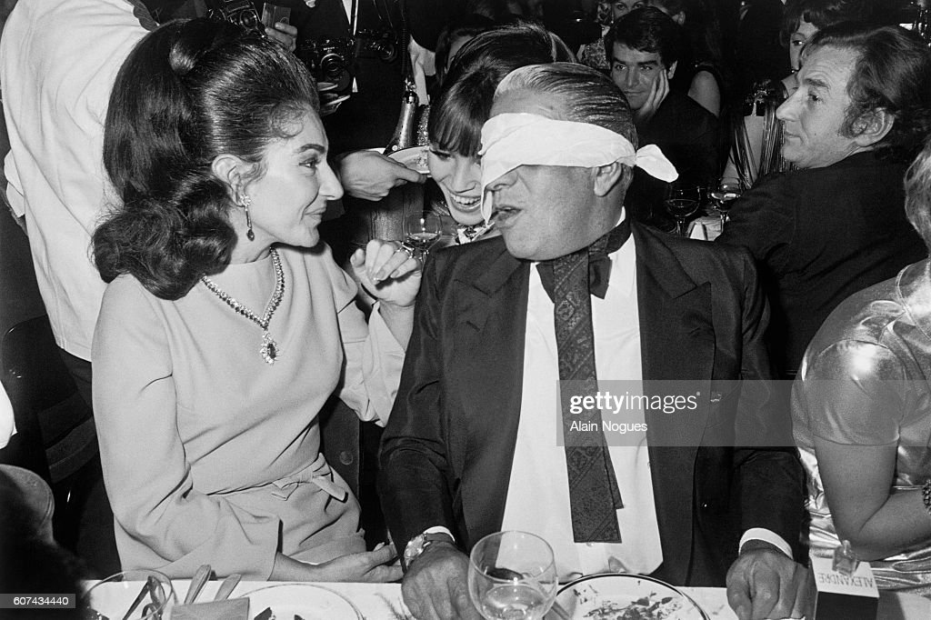 Maria Callas and Aristotle Onassis : News Photo