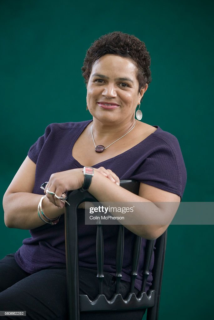 Celebrated British poet Jackie Kay at the Edinburgh International Book Festival where she talked about her recent work. The three-week event is the world's biggest literary festival and is held during the annual Edinburgh Festival. The 2009 event featured talks and presentations by more than 500 authors from around the world.