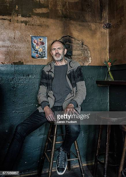 Celebrated Dutch photographer and filmmaker Anton Corbijn at the Macke Prinz bar in Zionskirchstrasse Mitte Berlin He is known for his legendary...