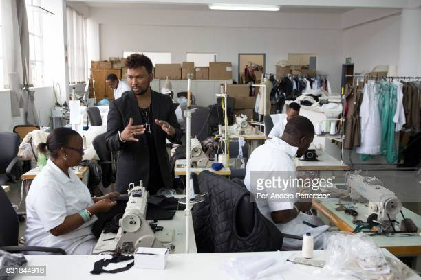 193 David Tlale Fashion Designer Photos And Premium High Res Pictures Getty Images