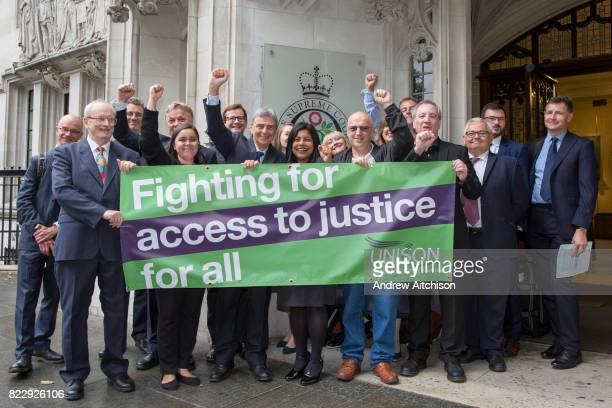 UNISON celebrates its landmark victory over the scrapping of employment tribunal fees at the Supreme Court in London with general secretary Dave...