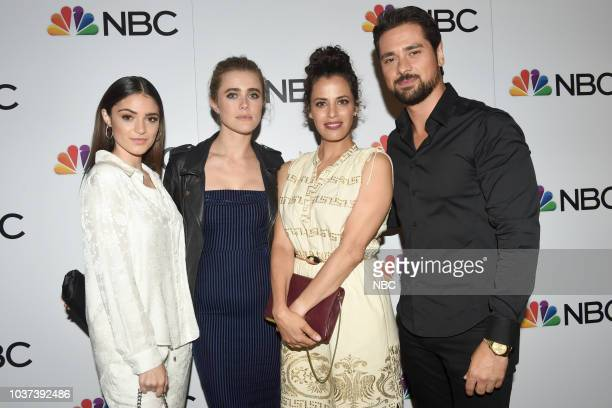 EVENTS NBC Celebrates the 20182019 Season in New York City on Thursday September 20 2018 at the Four Seasons Pictured Luna Blaise Melissa Roxburgh...