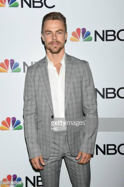 EVENTS 'NBC Celebrates the 20182019 Season in New York City on Thursday September 20 2018 at the Four Seasons' Pictured Derek Hough of 'World of...