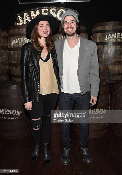 HONEYHONEY celebrates the launch of Jameson Music at The Down Out on December 1 2016 in Los Angeles California