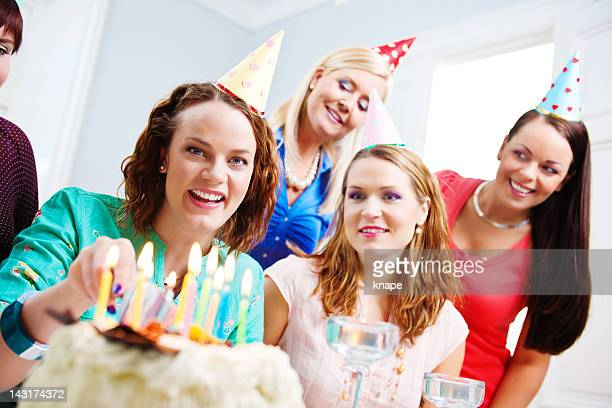 Feiern Geburtstag Mädchen