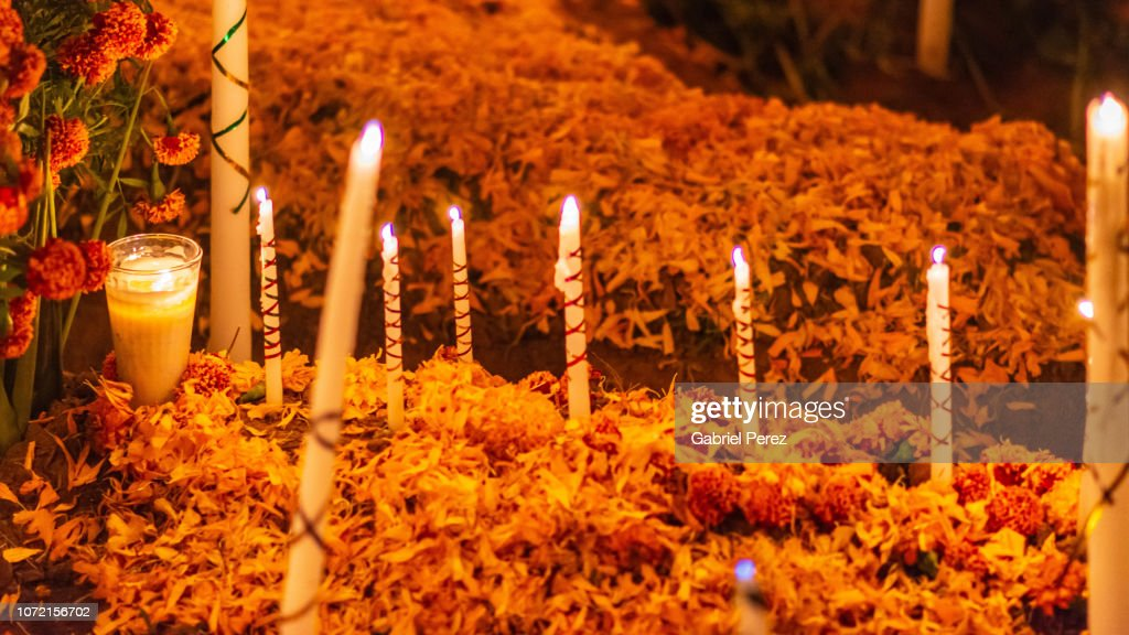 Celebrating Day of the Dead in Oaxaca, Mexico : Stock Photo
