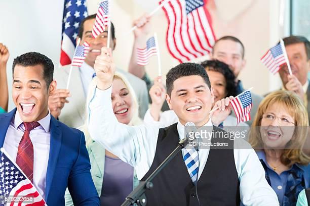 Celebrating Hispanic Politician