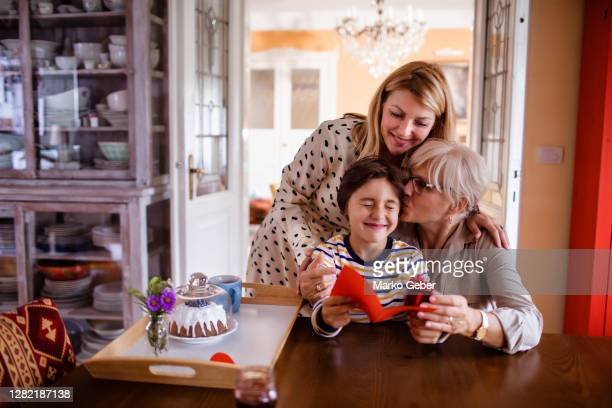 celebrating mother's day - holiday stock pictures, royalty-free photos & images