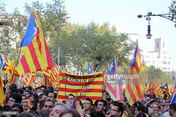 Celebrating National Day of Catalonia