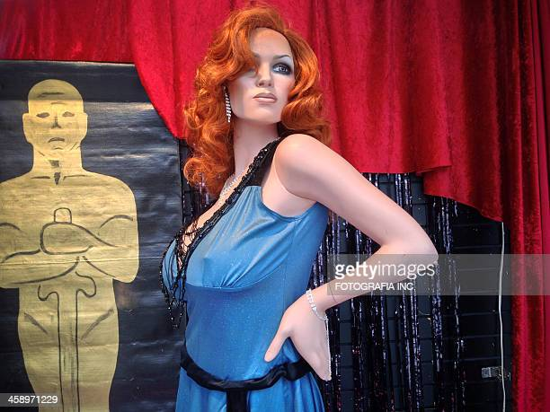 celebrating oscars in toronto - voluptuous breasts stock pictures, royalty-free photos & images